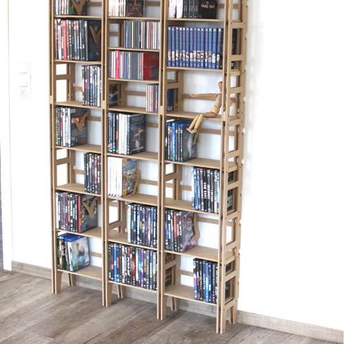 CD- / DVD-Regal oder Plattensammlung sortieren