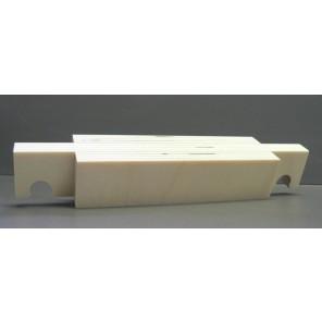 Oberer Abschluß und Aufdopplung - Birke Multiplex 330 mm