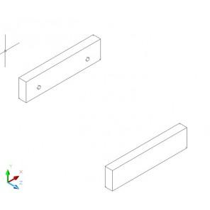 Aufdoppelung für oberer Abschluß - Birke Multiplex