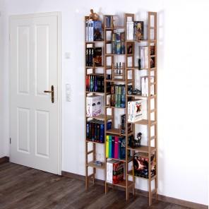 Die schlanke Bücherregal Serie Idee von Regaflex
