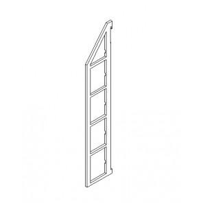 BD Seitenteile 175 mm Bodenabstand für 5 Böden