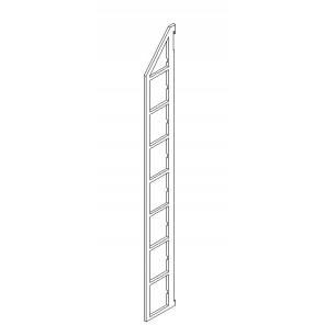 BD Seitenteile 175 mm Bodenabstand für 8 Böden