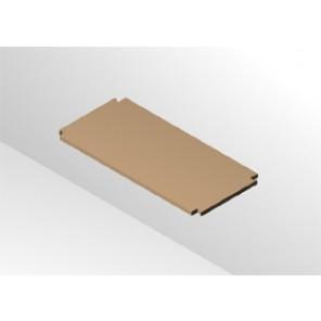 Regalboden 17 cm tief 455 mm breit ohne Träger für 64 mm Rastsystem