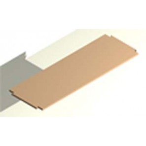 Regalboden für grössere Abstände bis 70 cm 24 cm tief, 16 mm stark