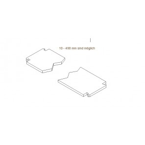 Boden Sondermaß 10-50 cm Für Jennifer und New-Line Modelle