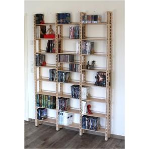 Bücherregal Birke Multiplex Natur