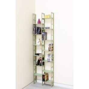 Bücherregal IDEE in Birke-Multiplex Pastelgrün