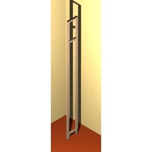 Bücherregalseite 17 cm tief 225 cm hoch
