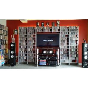 cd & -dvd regal im Heimkino und Musikzimmer