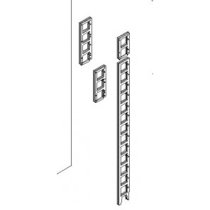 Verlängerung für CD Regalleiter um 2 Böden