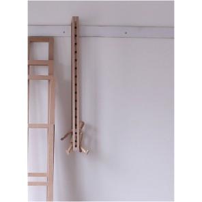 Hängende Regalseite zum Erstellen von komplexen Medienregalen zur Wandbefestigungndes Seitentei für Concept-12 Regale