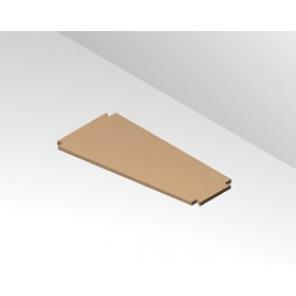 Boden 17 cm tief - 23,5 cm breit mit Träger
