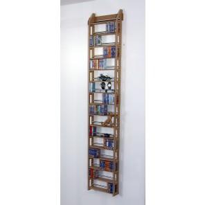 Regal für Musikkassetten zum an die Wand hängen