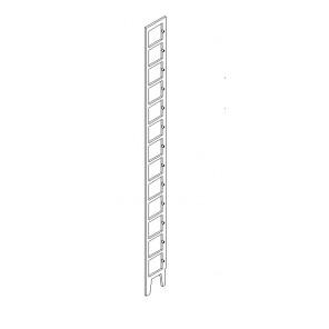 New-Line CD Regal Seitenteile ohne Kerbe für Anschlagstange