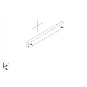 Regalboden Träger 20 cm tief - Birke Multiplex
