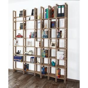 Wechseltiefes Bücherregal