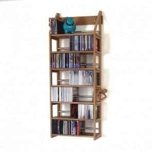 CD-Regal | Modul für 252 CDs, Bücher