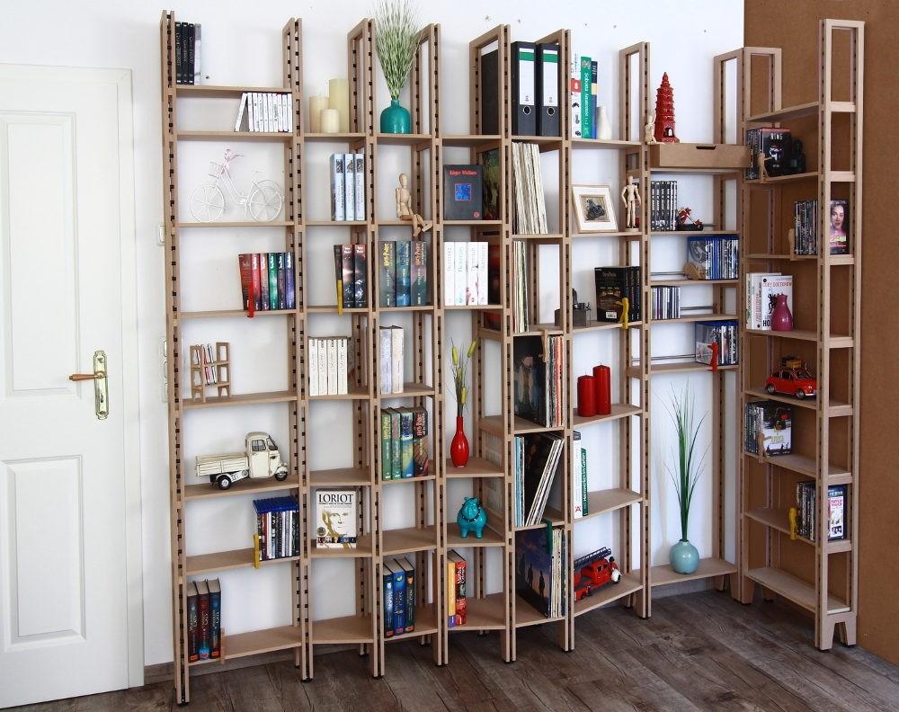 eckregal f r b cher. Black Bedroom Furniture Sets. Home Design Ideas