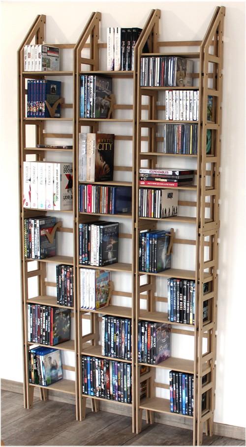 cd dvd regal komplettsystem f r ca 1080 cds in schwarz. Black Bedroom Furniture Sets. Home Design Ideas