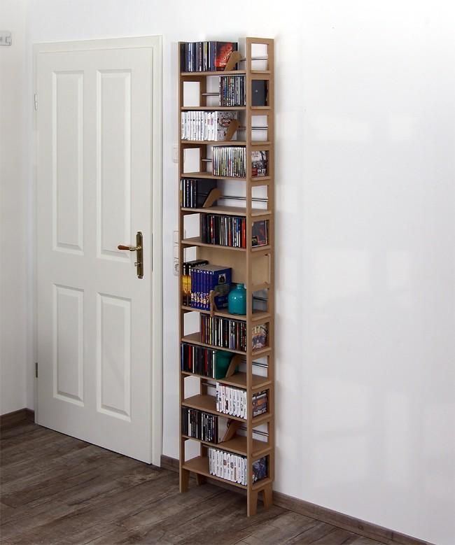 cd steckregal im industrialstil. Black Bedroom Furniture Sets. Home Design Ideas