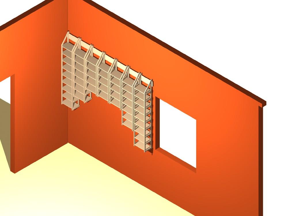 wandregal f r 1080 cds. Black Bedroom Furniture Sets. Home Design Ideas