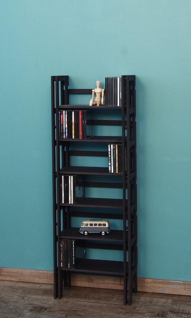 cd dvd regal standregal f r 174 cd ausbauf hig. Black Bedroom Furniture Sets. Home Design Ideas
