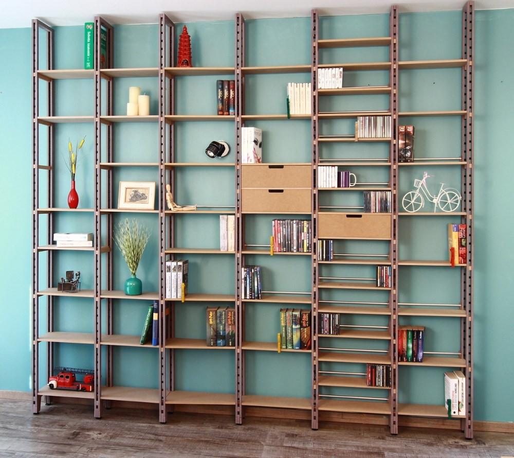 Bücherregal Und Bücherregal Systeme Für Ihr Zuhause Regaflex