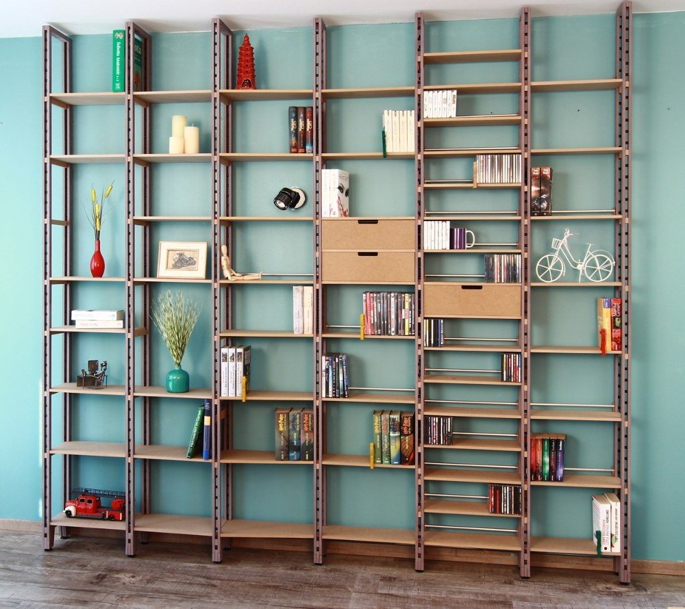 b cherregal ecke swalif. Black Bedroom Furniture Sets. Home Design Ideas