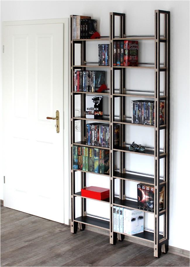 wei es b cherregal birke multiplex unter 1 meter breit. Black Bedroom Furniture Sets. Home Design Ideas