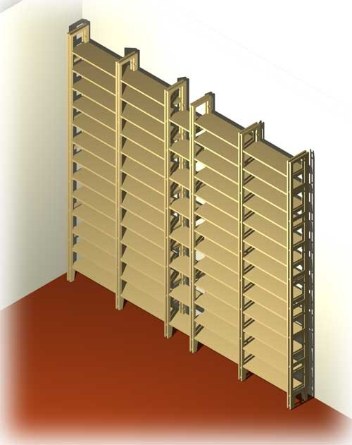 cd dvd regal system f r 104 dvd und 2000 cd. Black Bedroom Furniture Sets. Home Design Ideas