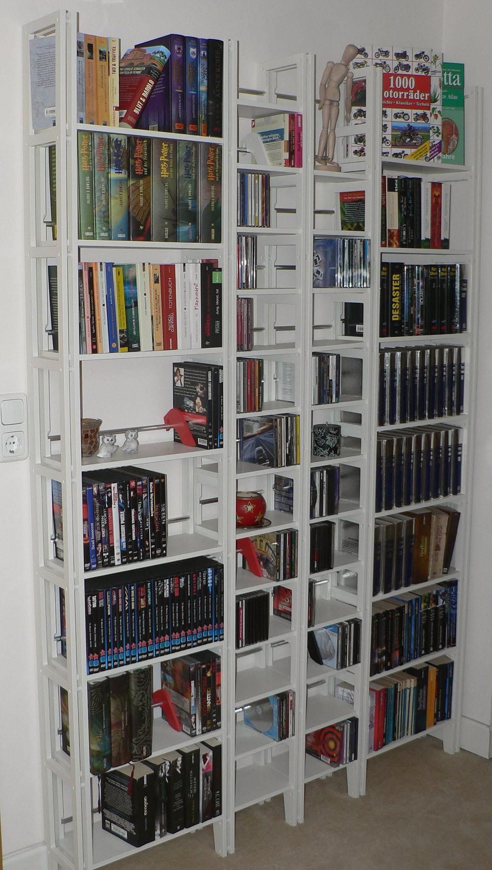 cd dvd regal f r 450 dvd und 500 cds. Black Bedroom Furniture Sets. Home Design Ideas
