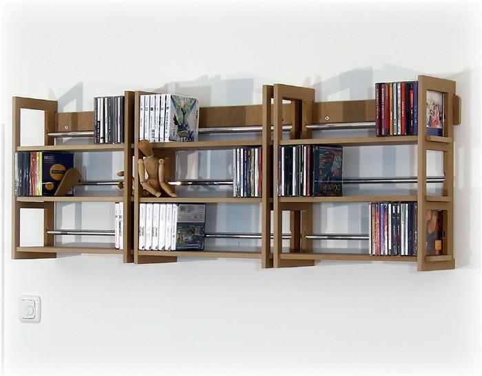 Wand Regale cd regale für 324 cds hörbücher und ähnliches