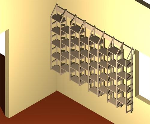 b cherregal jennifer 18 cm tief. Black Bedroom Furniture Sets. Home Design Ideas