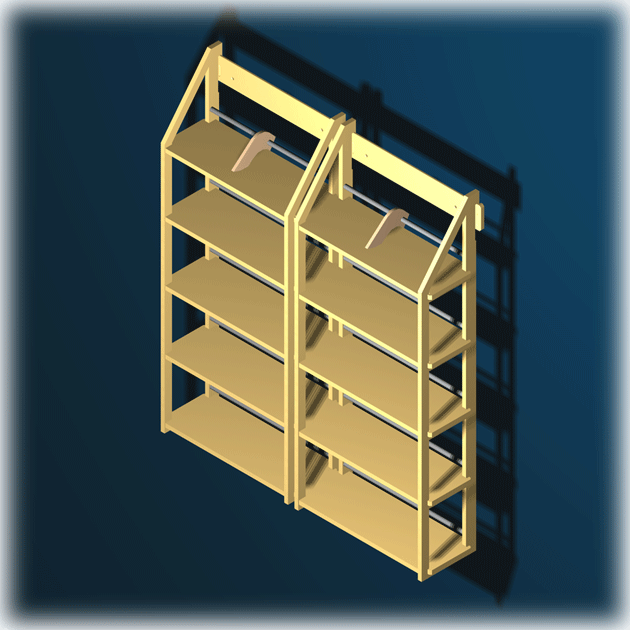 regal f r ca 225 blu ray medien. Black Bedroom Furniture Sets. Home Design Ideas