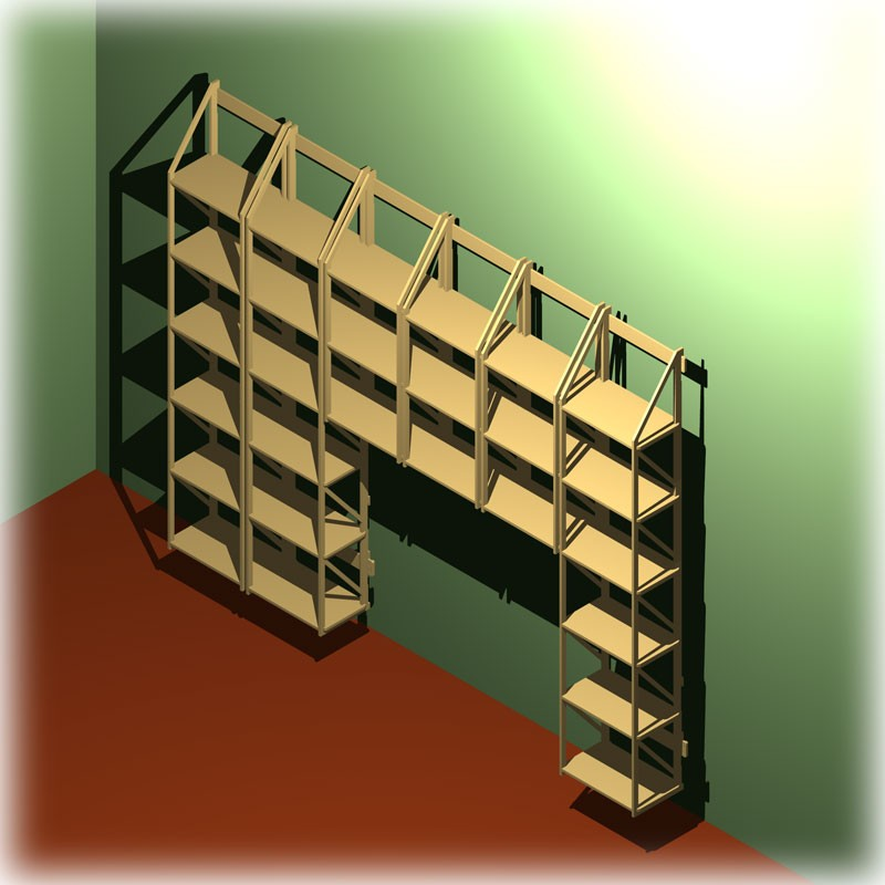 regalwand zum aufh ngen und umbauen anderer m bel. Black Bedroom Furniture Sets. Home Design Ideas