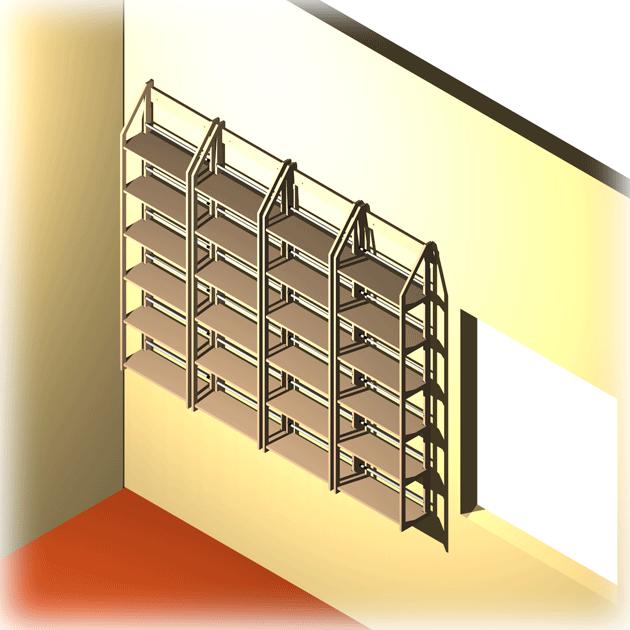 vier dvd regal module f r 624 dvds buecher vhs. Black Bedroom Furniture Sets. Home Design Ideas