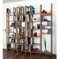 Bücherregale für Taschenbücher, gebundene Ausgaben und große Buchbände