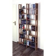 Taschenbuchregal auch für DVD Sammlungen bestens geeignet.