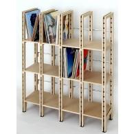 Schallplattenregal Concept-12 für ca. 500 LPs