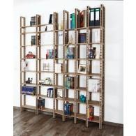Großes Bücherregal mit wechselnder Tiefe - Modell Penzberg