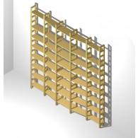 Bücherregal 240 auf 170 mm tief 225 cm hoch