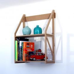 Kleines Bücherregal für die Wand