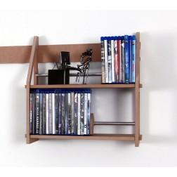 blu ray regal aufbewahrung regalsysteme von regaflex. Black Bedroom Furniture Sets. Home Design Ideas