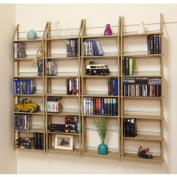 Großes DVD Regal auch bestens für Ihre Buchsammlung geeignet