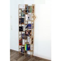 gute idee f r ein g nstiges b cherregal im wohn oder. Black Bedroom Furniture Sets. Home Design Ideas