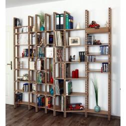 Bücherregal für Taschenbücher bis Bildbände