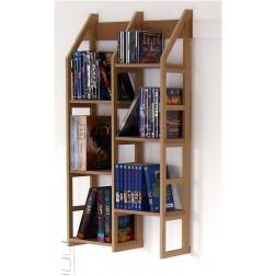 Schmales hängendes Bücherregal Modell Sehnde