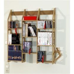 Kleines Bücherregal  -Idee Witten