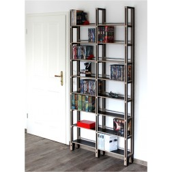cd regale dvd regal und b cherregale nach ma online kaufen. Black Bedroom Furniture Sets. Home Design Ideas