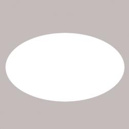 Ovales Etikett